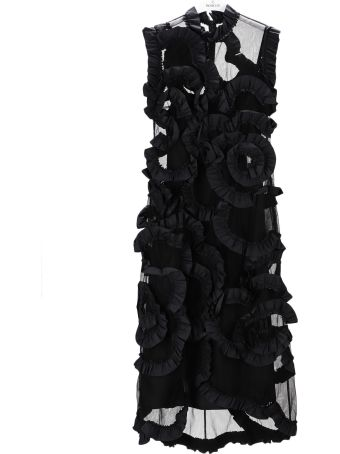 Moncler Genius Ruffled Tulle Dress