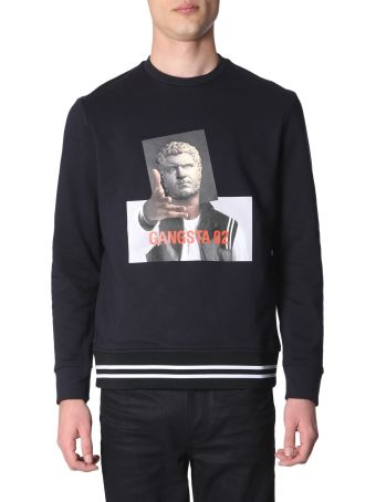 Neil Barrett Gangsta 02 Printed Sweatshirt