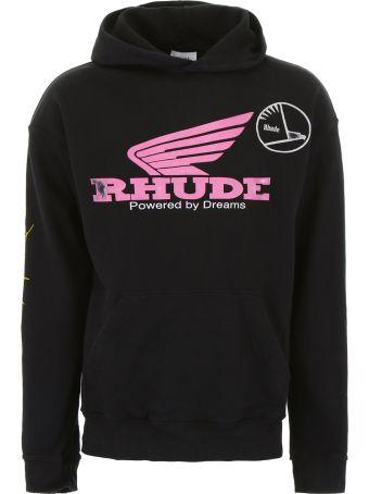 Rhude Logo Hoodie