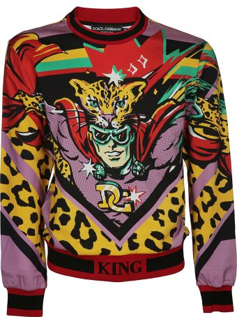 Dolce & Gabbana Leopard King Sweatshirt