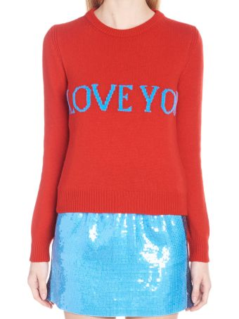 Alberta Ferretti 'i Love You' Sweater