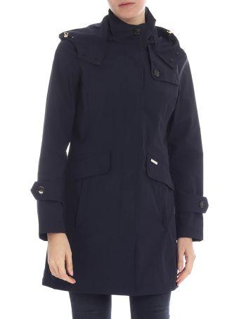 Woolrich Buttoned Coat