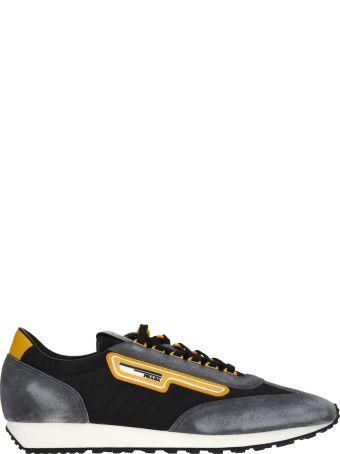 Prada Sneaker Scamosciato Delave' + Nylon