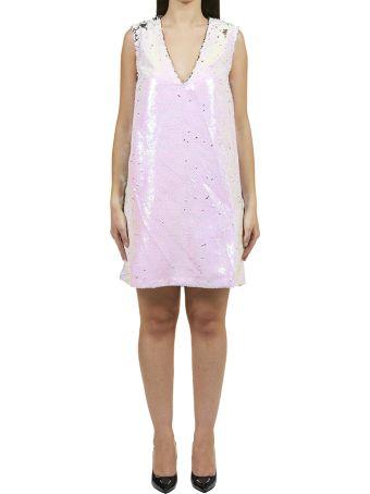 Amen Sequin Shift Mini Dress