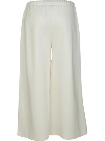 Fay Wide Drawstring Trousers