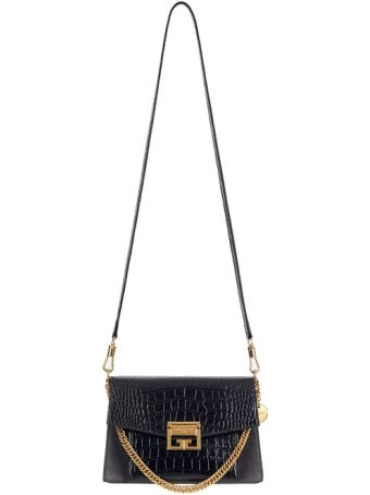 Givenchy Small Gv3 Calf Leather Bag/cocca