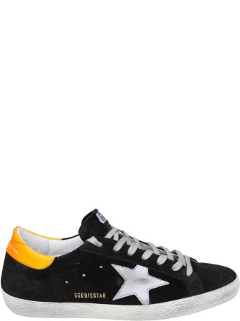 Golden Goose Superstar Sneakers In Black Suede