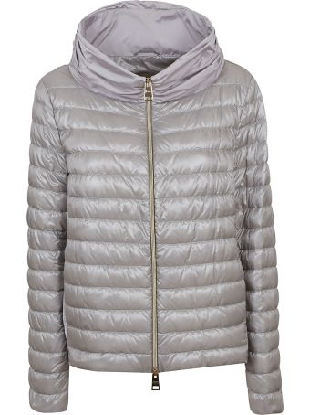 Herno Contrast Panels Down Jacket