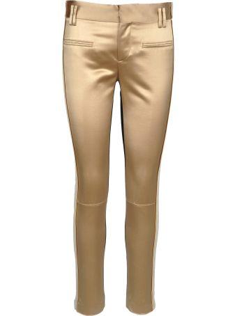 Haider Ackermann Haider Ackermann Contrast Slim-fit Trousers