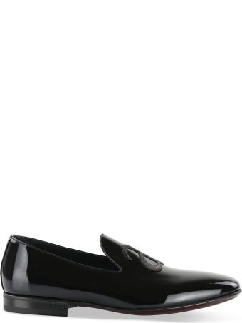 a.testoni Embroidered Initials Loafers