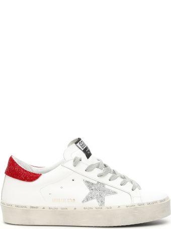 Golden Goose Swarovski Hi Star Sneakers