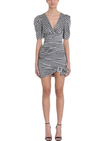 Alexandre Vauthier Ruched Silk Mini Dress