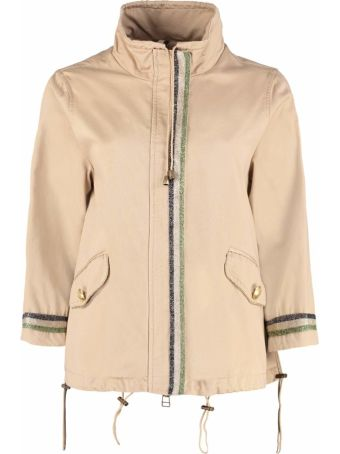 Alessandra Chamonix Anais Zippered Cotton Jacket