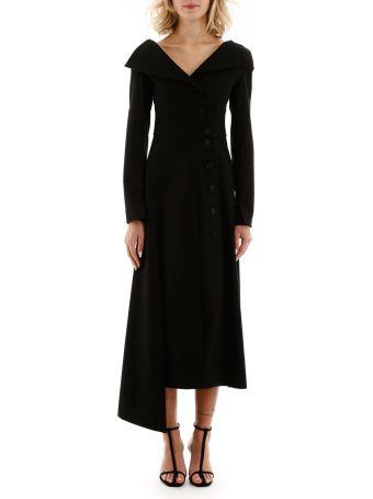 A.W.A.K.E. Mode Buttoned Dress