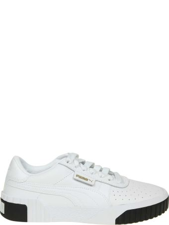 Puma Sneakers Cali In Leather White Color