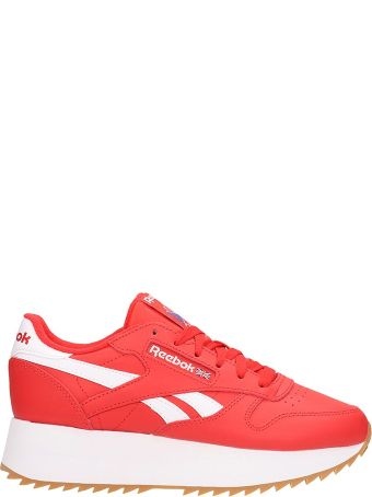 Reebok Red Canvas Style 36 Sneakers Sneakers