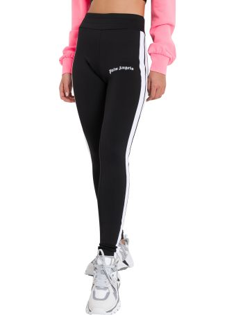 Palm Angels Taping Leggins With Logo