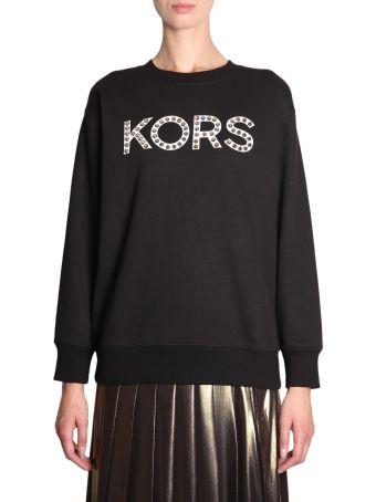 MICHAEL Michael Kors Sweatshirt With Studded Logo