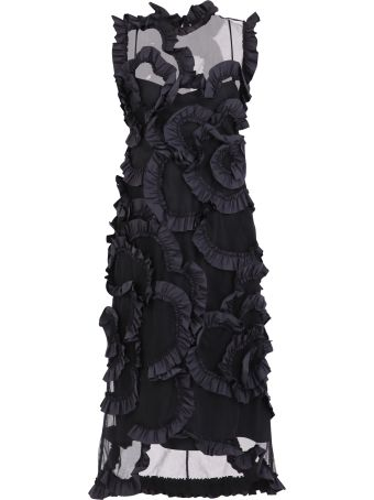 Moncler Genius Ruched Dress