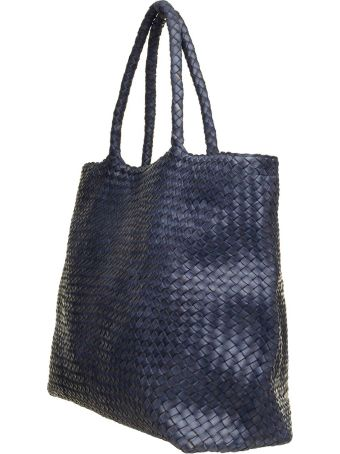 Officine Creative Officine Creative Blue Navy Class35 Braided Bag