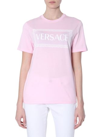 Versace 90s Vintage Logo Print T-shirt