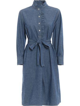 Tory Burch Ruffle Trim Dress