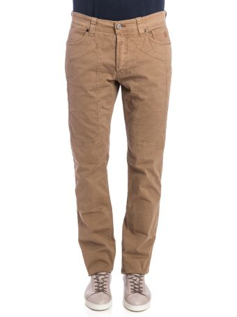 Jeckerson Jeckerson Cotton Blend Trousers