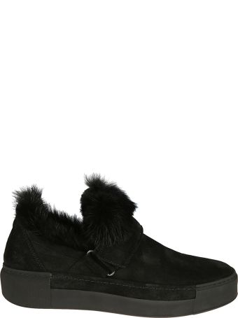 Vic Matié Vic Matie' Fur-detailed Sneakers