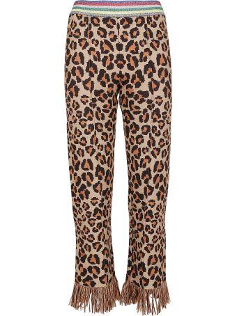 Alanui Animalier Jacquard Trousers