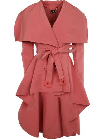 Elisabetta Franchi Celyn B. Elisabetta Franchi For Celyn B. Double Breasted Tied Waist Trench