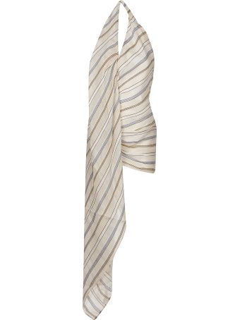 Jacquemus Halterneck Draped Detail Dress