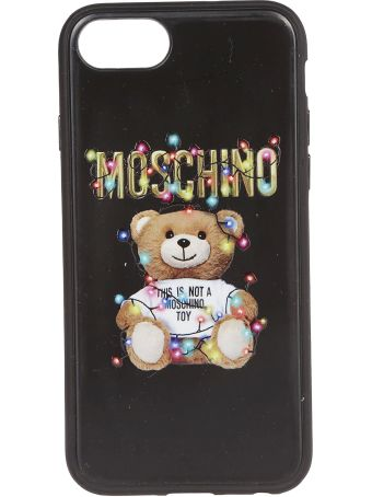 Moschino Iphone Signature Bear Case