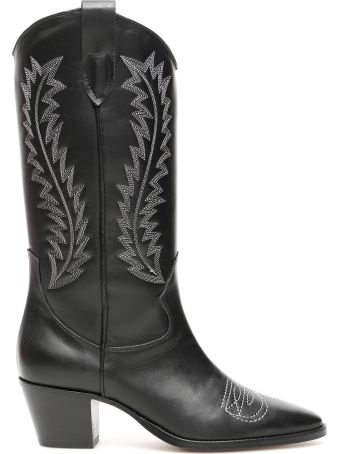 Paris Texas Western Embroidered Boots