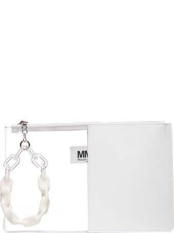 MM6 Maison Margiela Contrast Slim Clutch