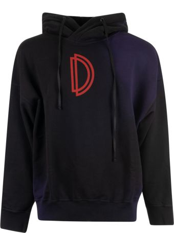 Damir Doma Logo Print Hoodie