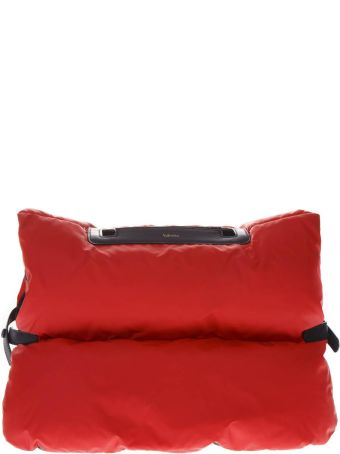 Valextra Red Padded Small Bag