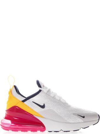 Nike Air Max 270 White Textile Sneaker