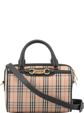 Burberry Small Link Bowling Bag
