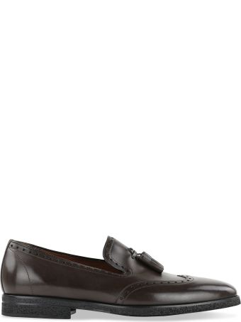 a.testoni Brogue Detail Loafers