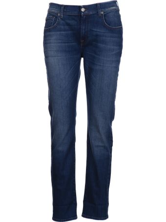 7 For All Mankind Stonewashed Jeans