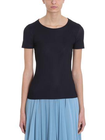 Jil Sander Basic Black Jersey T-shirt