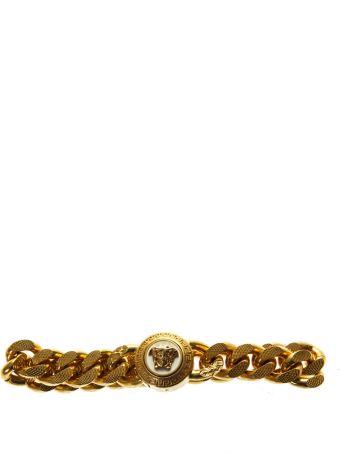 Versace Gold Brass Bracelet