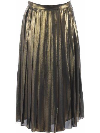 Michael Kors Pleated Midi Skirt