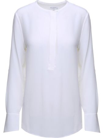 Equipment Mabel Washed-silk Blouse