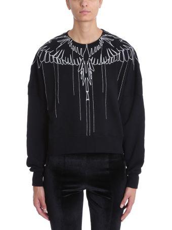 Marcelo Burlon Black Wool Sweater