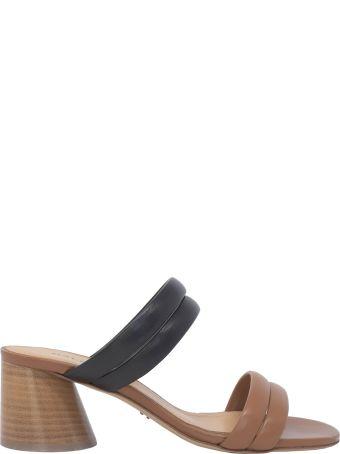 Halmanera Brown Leather Sandals