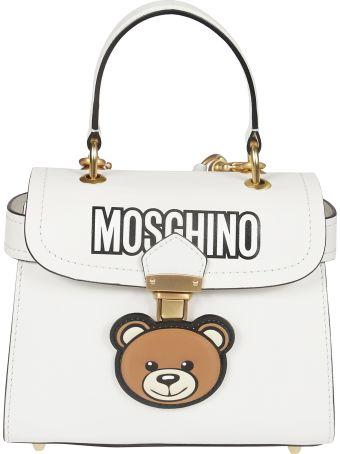 Moschino Logo Print Shoulder Bag