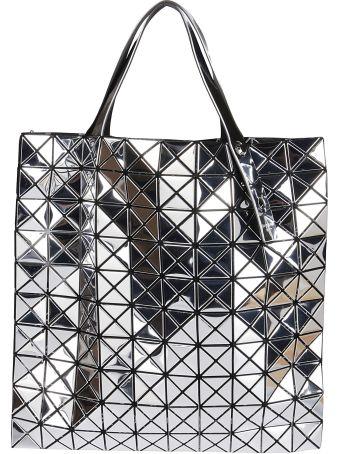 Bao Bao Issey Miyake Silver-tone Platinum Bag