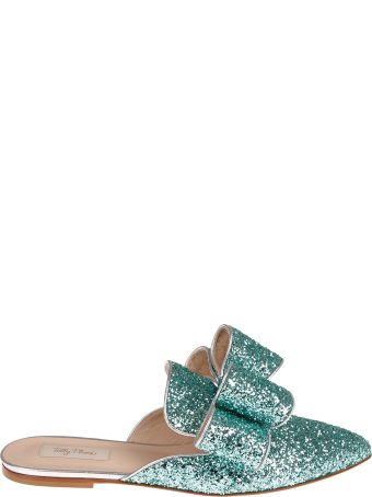 Polly Plume Embellished Crystal Mules