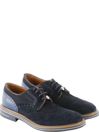 Brimarts Suede Derby Shoes